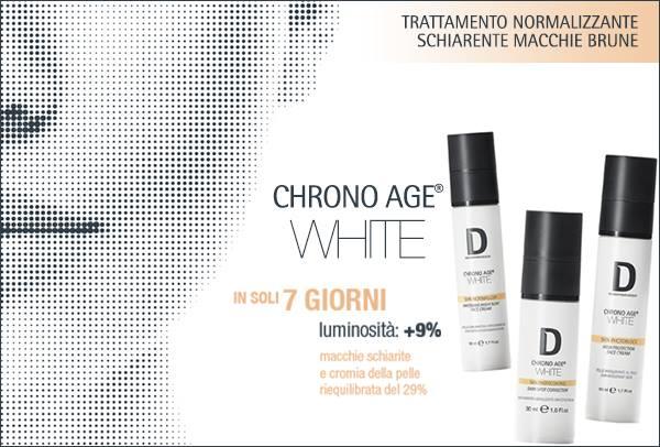 Risultati immagini per Dermophisiologique: CHRONO AGE® WHITE contro le macchie brune